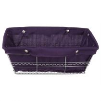 Panier de Rangement Multi-Usages Rectangle Violet