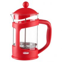 Cafetière à Piston 800ml Rouge