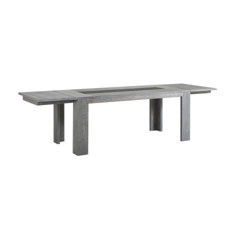 "Lot de 2 Allonges pour Table ""Spark"" Gris"
