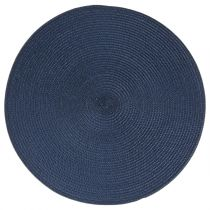Set de Table Rond 38cm Bleu