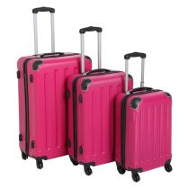 Set de 3 Valises Rose