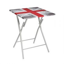 "Table Pliante ""London Ground"" 75cm Gris"
