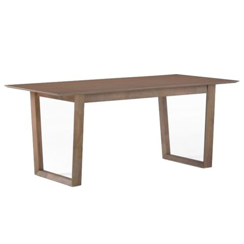"Table de Repas ""London"" 180cm Marron"