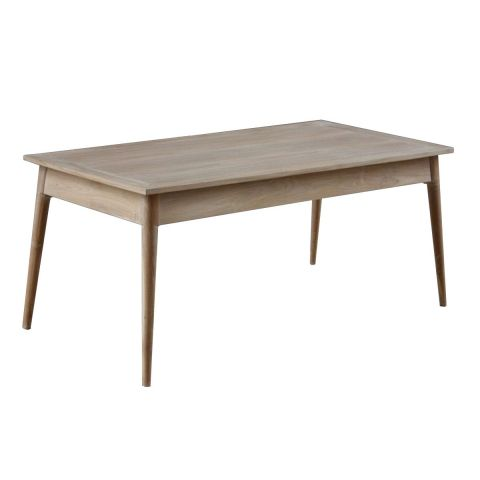 "Table de Repas ""Fiftees"" 180cm Naturel"