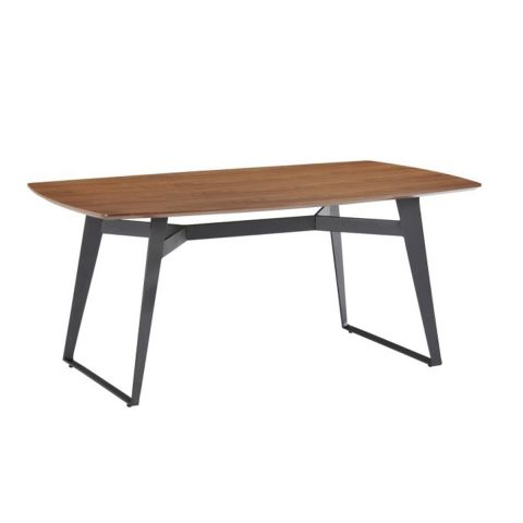 "Table de Repas ""Sven"" 180cm Marron"