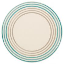 "Lot de 6 Assiettes Plates ""Halo Lagon"" 27cm Pastel"