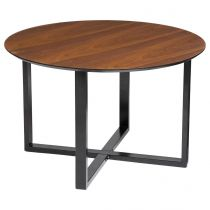 "Table d'Appoint ""Walnut"" 75cm Noyer"