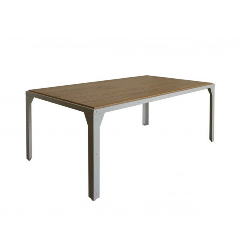 Table de salle manger adrett 180cm naturel for Table salle a manger 70 cm
