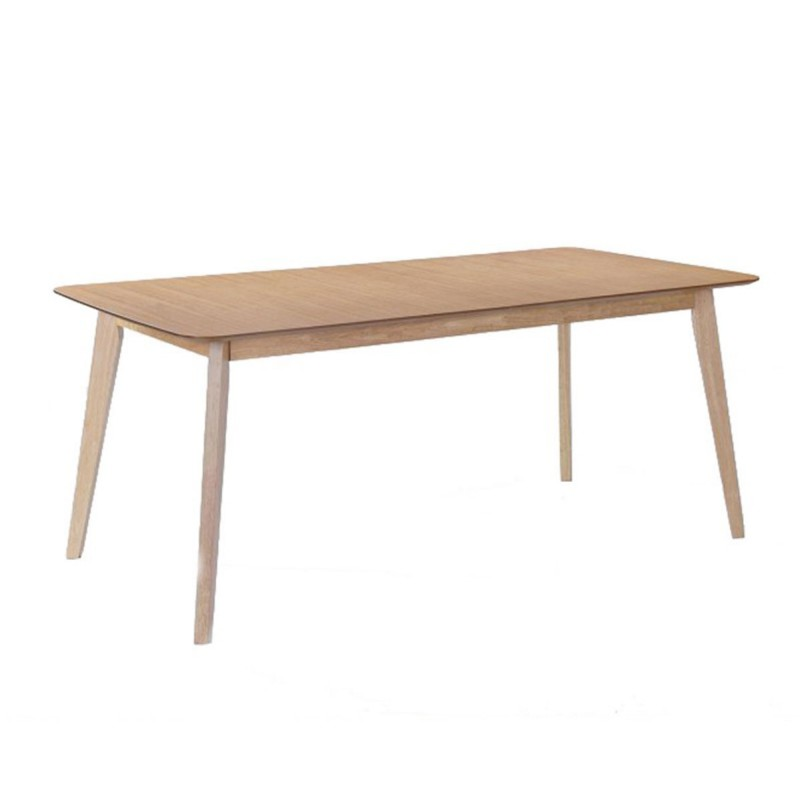 Table de repas extensible alis 180 224cm ch ne for Table de repas design extensible