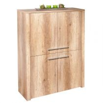 "Bahut 4 Portes ""Swift"" 107cm Naturel"