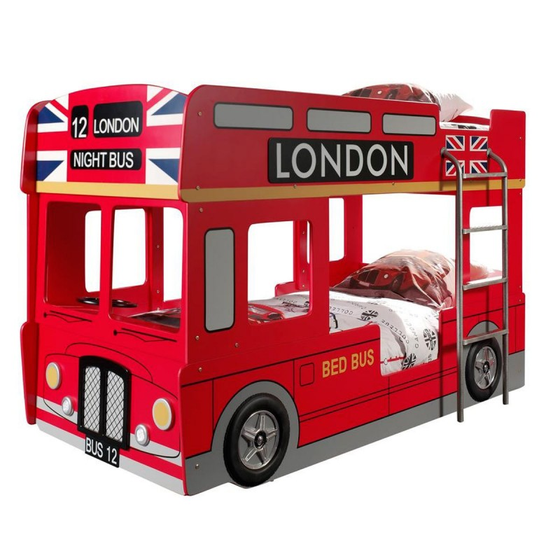 lit superpos enfant bus londres rouge. Black Bedroom Furniture Sets. Home Design Ideas