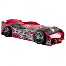 "Lit Enfant Voiture ""Night Racer Drift King"" Rouge"