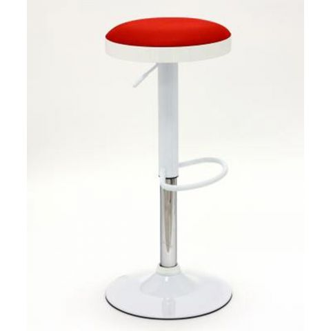 "Tabouret de Bar ""Match"" Rouge"