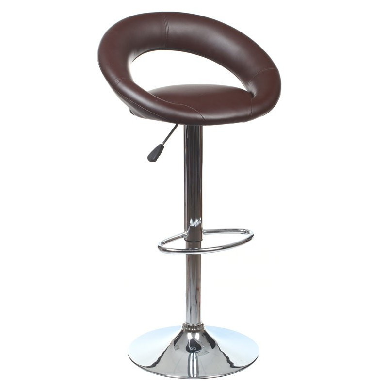 tabouret de bar sacha chocolat. Black Bedroom Furniture Sets. Home Design Ideas