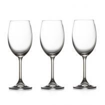 "Lot de 3 Verres à Vin ""Tana"" 35cl Transparent"