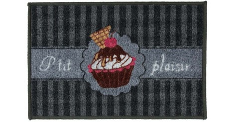 tapis gourmandise 40x60 cm cupcake. Black Bedroom Furniture Sets. Home Design Ideas