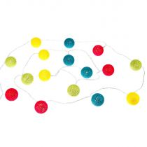 "Guirlande Led ""16 Mini Boules"" 240cm Multicolore"