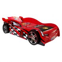 "Lit Enfant Voiture ""Night Speeder"" Rouge"
