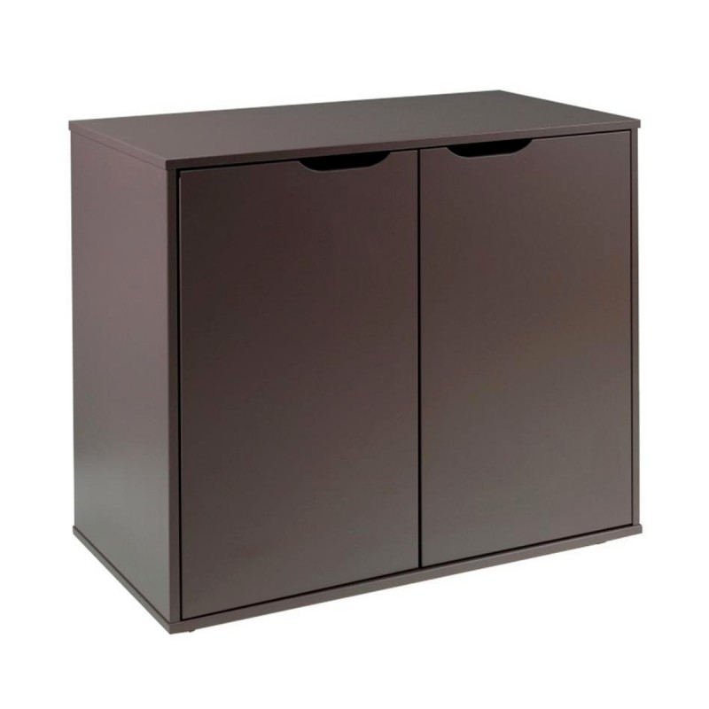 commode 2 portes enfant pino taupe. Black Bedroom Furniture Sets. Home Design Ideas