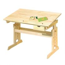 "Bureau Enfant Pupitre ""School"" Naturel"