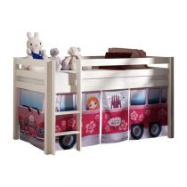 "Tente Textile pour Lit ""Pino Little Princess"" Rose"