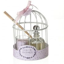 "Coffret de Fragrances ""Cage"" 20cm Pivoine"