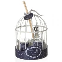 "Coffret de Fragrances ""Cage"" 20cm Vanille"