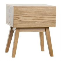 "Table de Chevet ""Flinn"" 46cm Naturel"