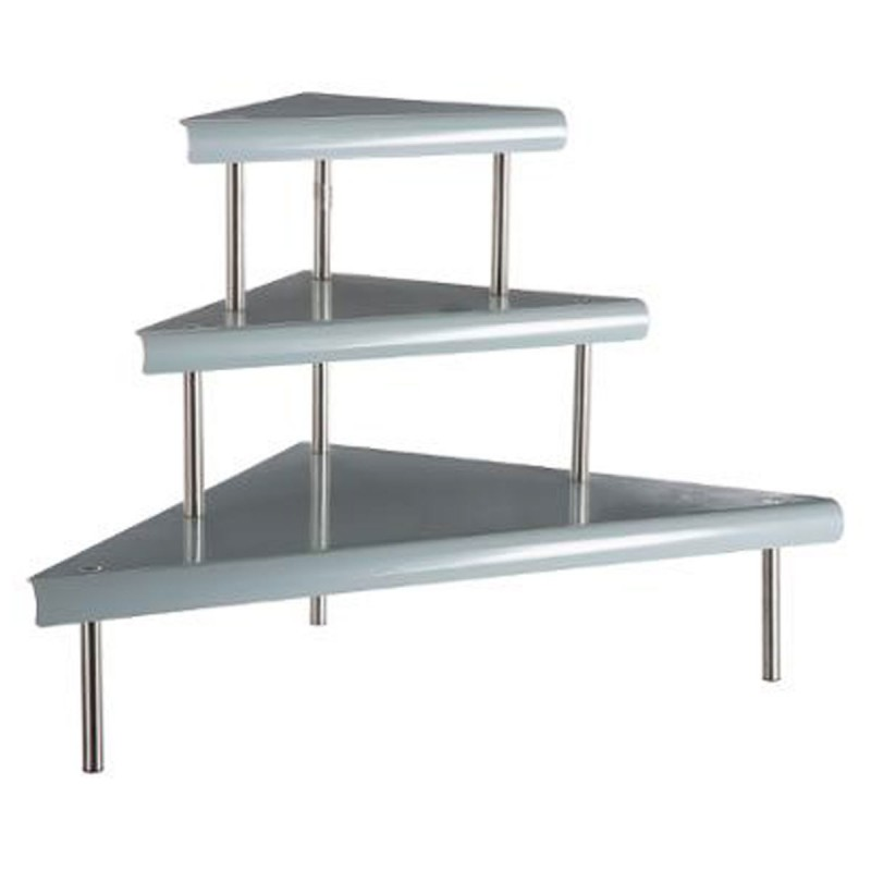 Tag re d 39 angle en m tal 67cm gris - Table d angle de cuisine ...