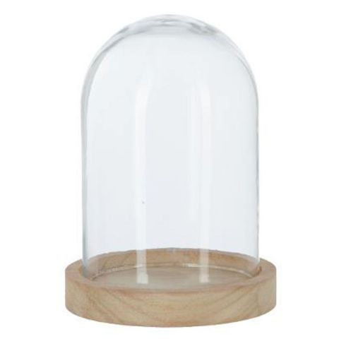 Cloche Décorative en Verre 17cm Naturel