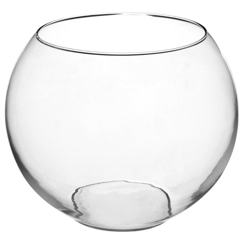 vase boule 25cm transparent. Black Bedroom Furniture Sets. Home Design Ideas