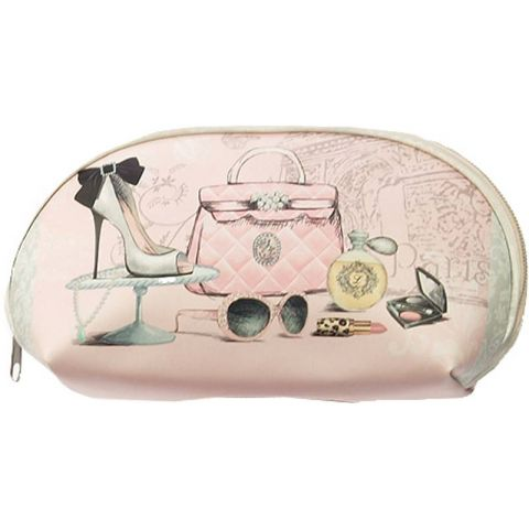 Trousse Maquillage Fashion Rose Clair