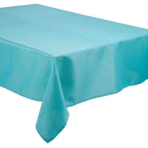 "Nappe Antitache ""Waterproof"" 140x250cm Turquoise"