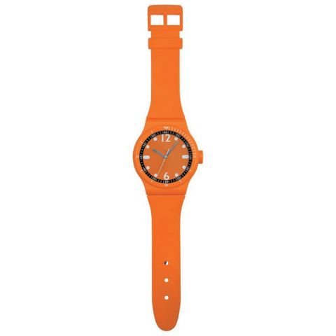 Horloge Montre Murale 92,5cm Orange