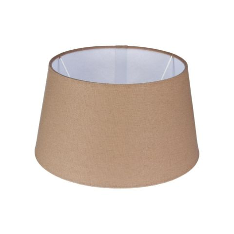 """Abat-Jour """"Rond II"""" 25cm Taupe"""