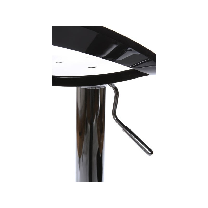 tabouret de bar plexiglas noir. Black Bedroom Furniture Sets. Home Design Ideas