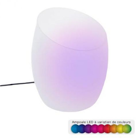 Lampe Lumineuse 12 LED Humidificateur d'Air 18cm Multicolore