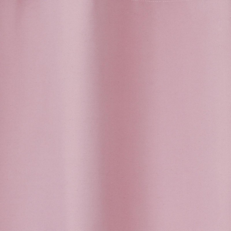 Rideau occultant coton 140x260cm rose for Rideau occultant rose pale