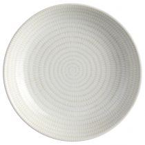 "Lot de 6 Assiettes Creuses ""Rice"" 20,5cm Blanc"