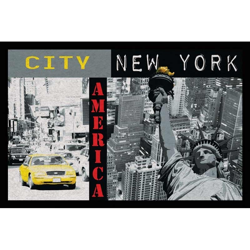 tapis de salon  new york x cm
