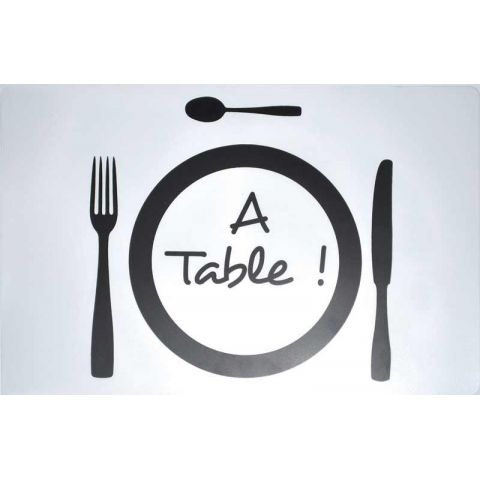 "Set de Table ""A Table !"""