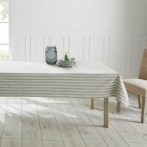"Nappe ""Camp Rayures"" 140x240cm Beige"