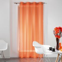 "Rideau Voilage ""Dandy"" 140x240cm Orange"