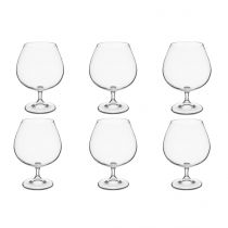 "Lot de 6 Verres à Cognac ""Tana"" 69cl Transparent"