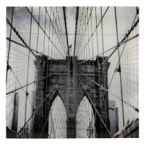 "Tableau Photo Plexiglas ""New-York"" 75x75cm"