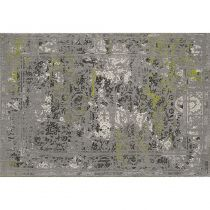 "Tapis Rectangulaire ""Eldely Hour"" 120x170cm Gris"