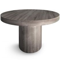"Table Repas Extensible ""Simona"" 110cm Marron"