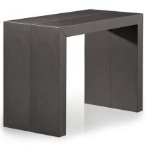 "Console Extensible XL""Castle"" 50-250cm Gris Carbone"