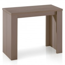 "Console Extensible ""Franciso"" 40-190cm Taupe"