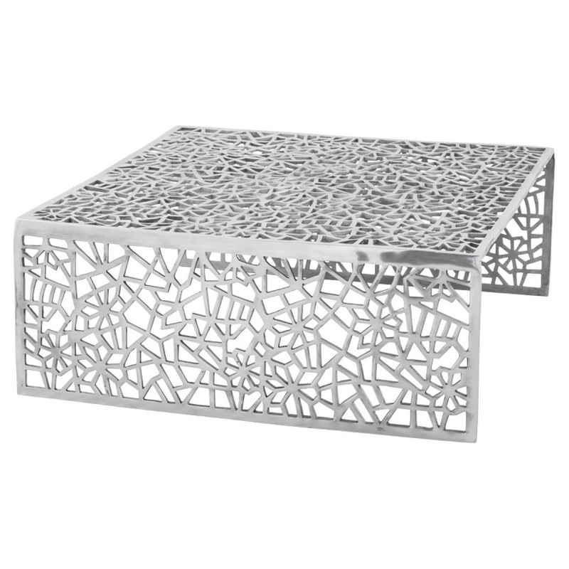 Table basse alv ole aluminium - Table basse en aluminium ...